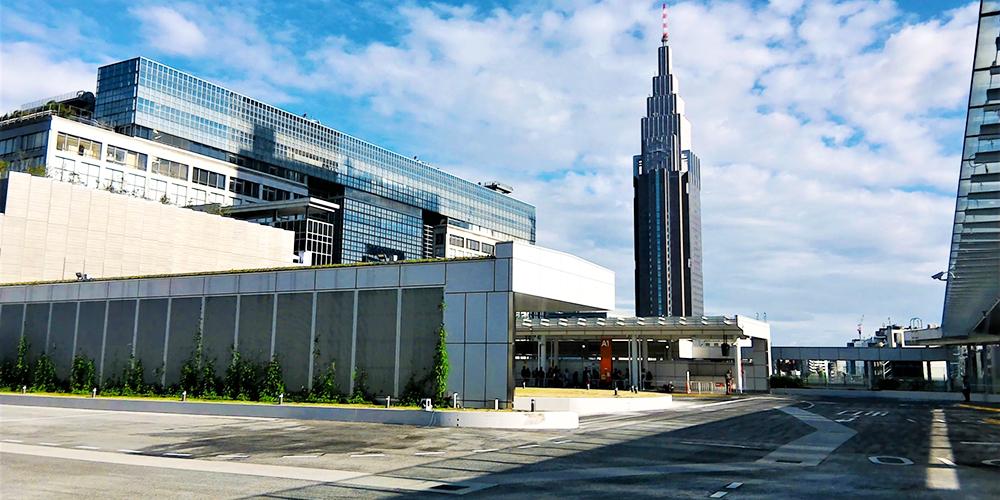 バスタ新宿の高速バス乗車場