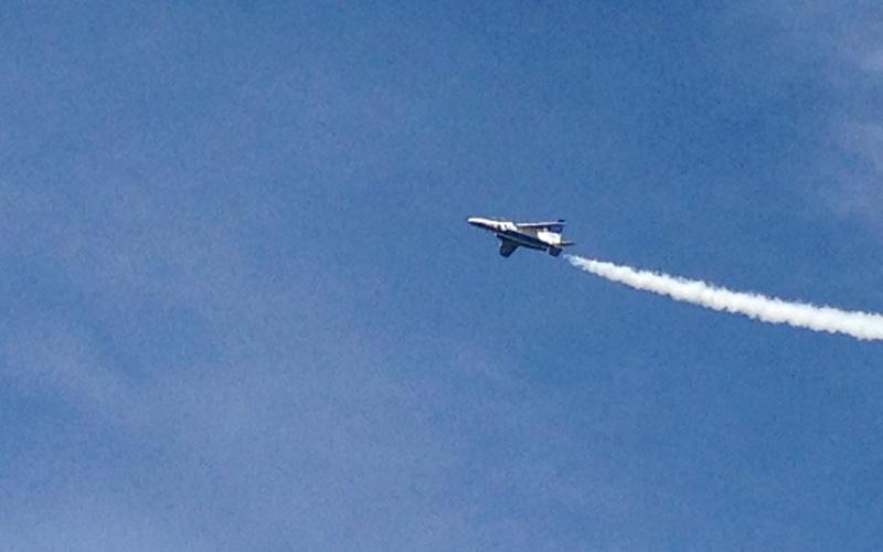 小松基地航空祭のブルーインパルス