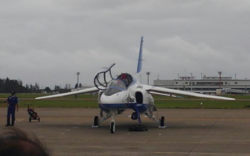 小松基地航空祭の地上展示の様子
