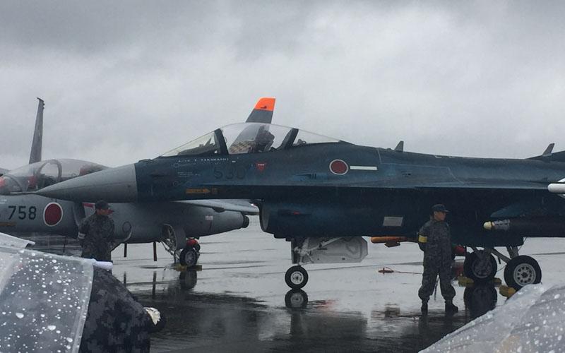 岐阜基地からやってきたF-2