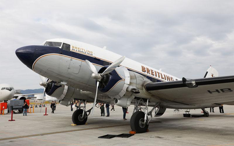 77年前に製造されたDC-3