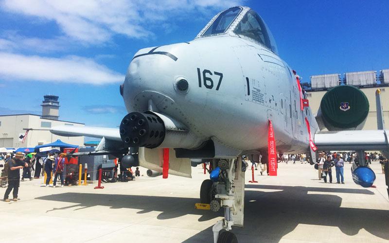 今年も韓国からA-10 サンダーボルトが!