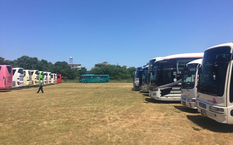 バス専用駐車場