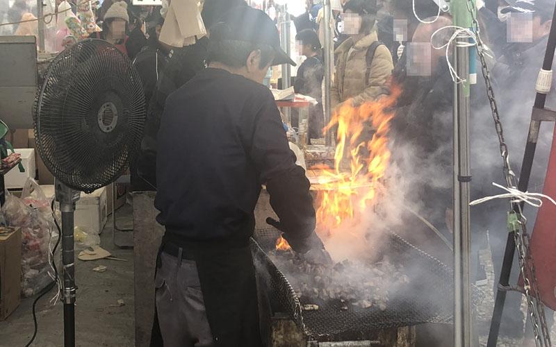 宮崎名物 鶏の炭火焼き