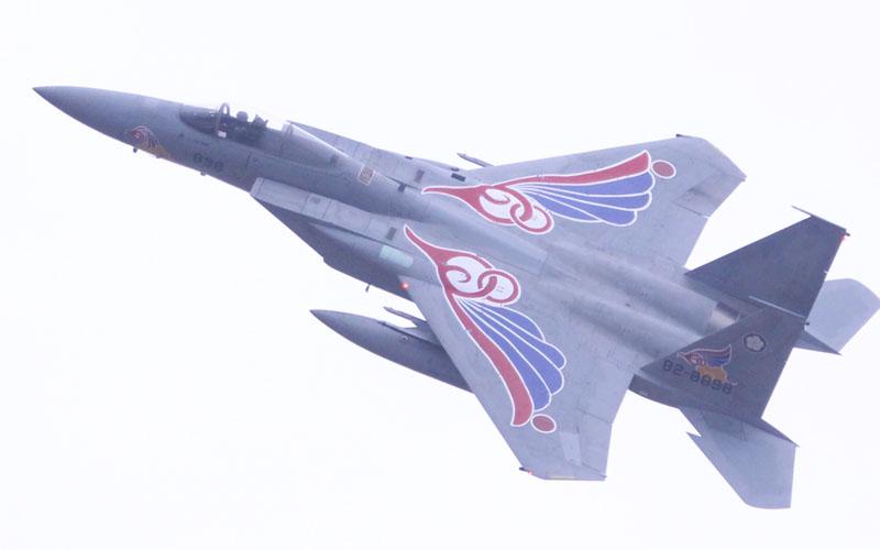 新田原基地からやってきたF-15
