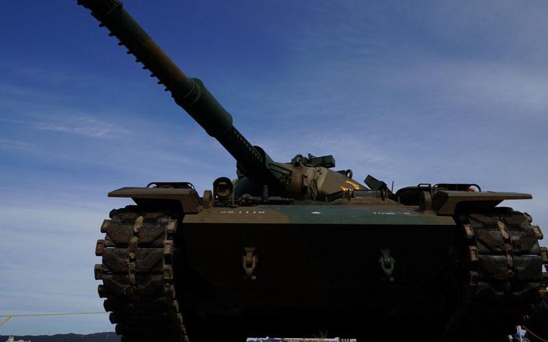 陸上自衛隊の74式戦車