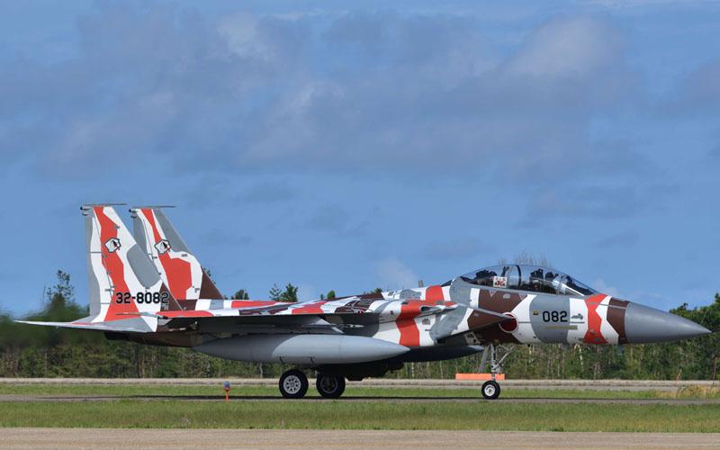 F-15塗装機