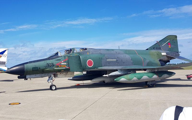 百里基地のRF-4EJ偵察機