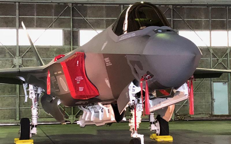 F-35A地上展示