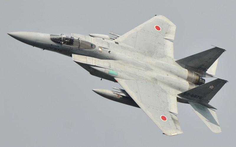 F-15展示飛行