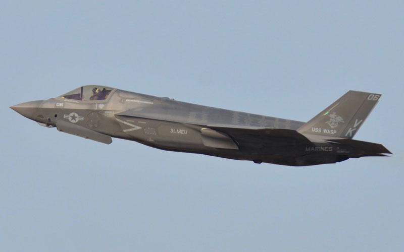 F-35B展示飛行
