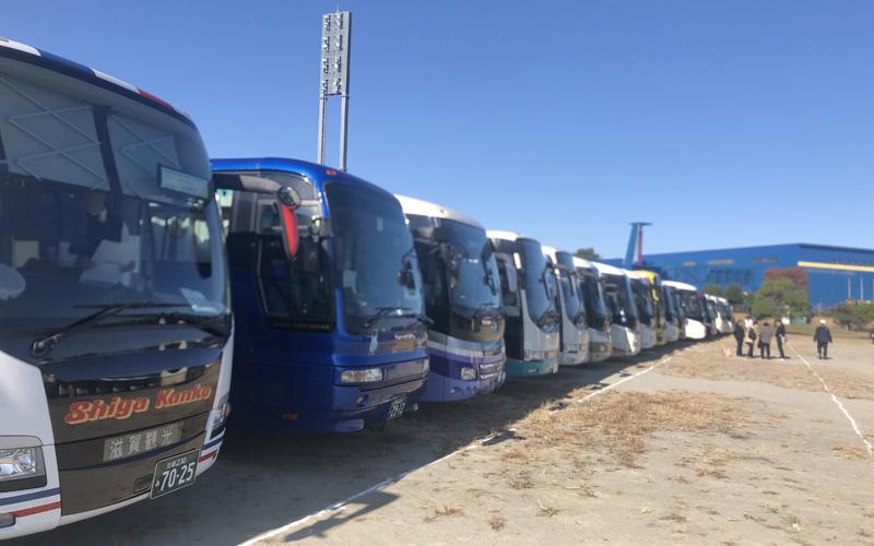 観光バス専用駐車場