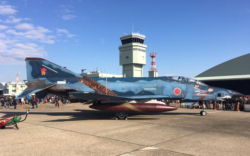 RF-4E 特別塗装機