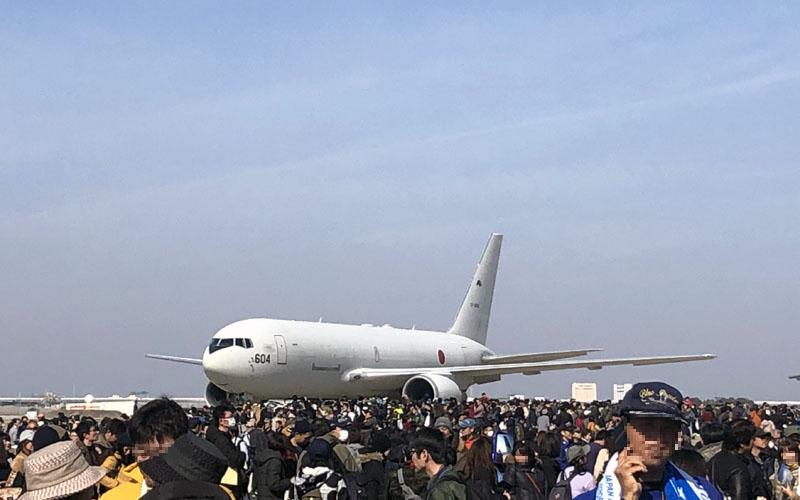 KC-767の展示飛行が見たかった…!