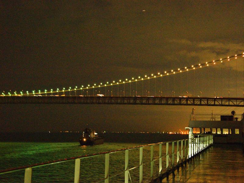 名門大洋フェリーから見る夜景2